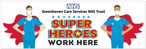 Super Hero  Banner Template 1 NHS